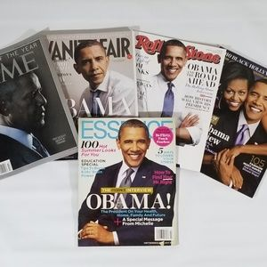 President Barack Obama Magazine Lot